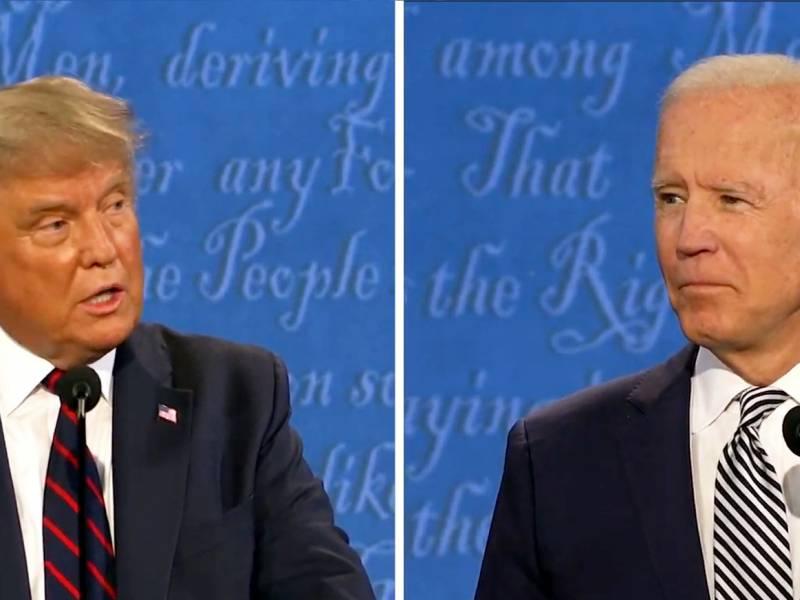 Trump Und Biden Zeigen Bei Erstem Tv Duell Bekannte Schwaechen