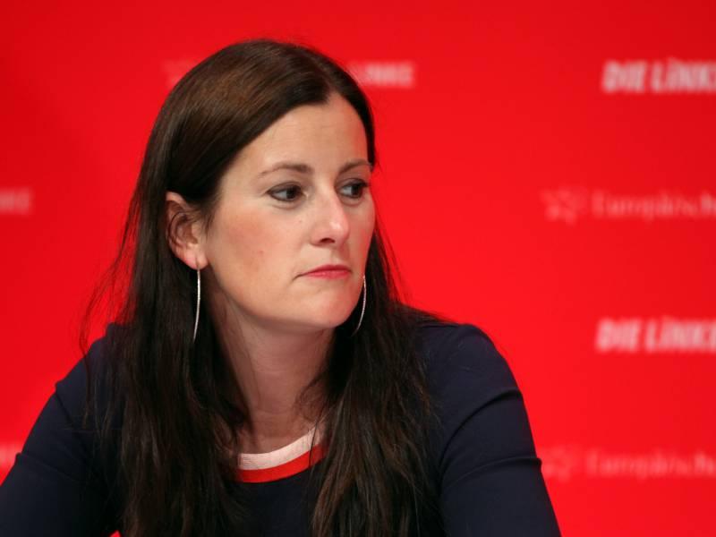 Wissler Spricht Auf Landesparteitag Der Linken In Thueringen