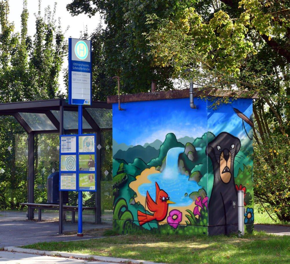 2020 10 07 Swa Graffiti Ottmarshausen