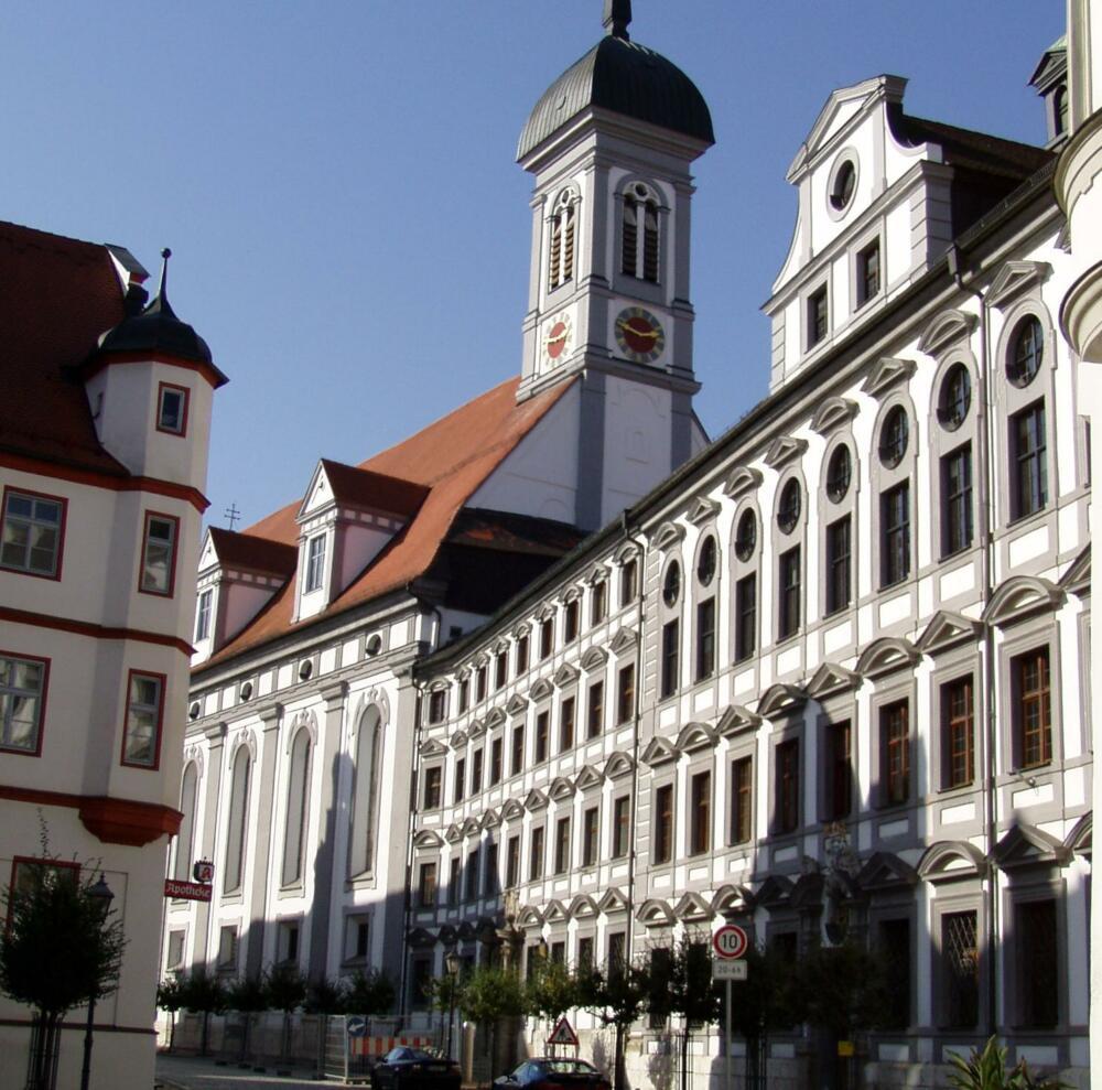 Dillingen A D Donau Akademie F Lehrerfortbildung Ehem Universitaet 1