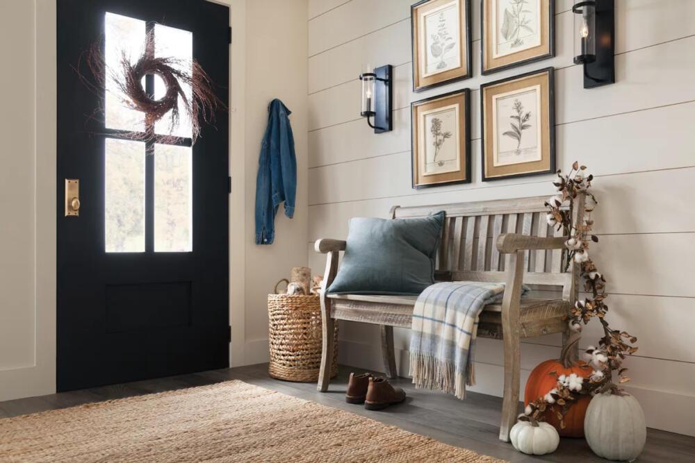 Rustic Front Door Indoor Design