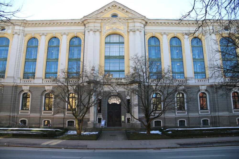 Staats Und Stadtbibliothek In Augsburg