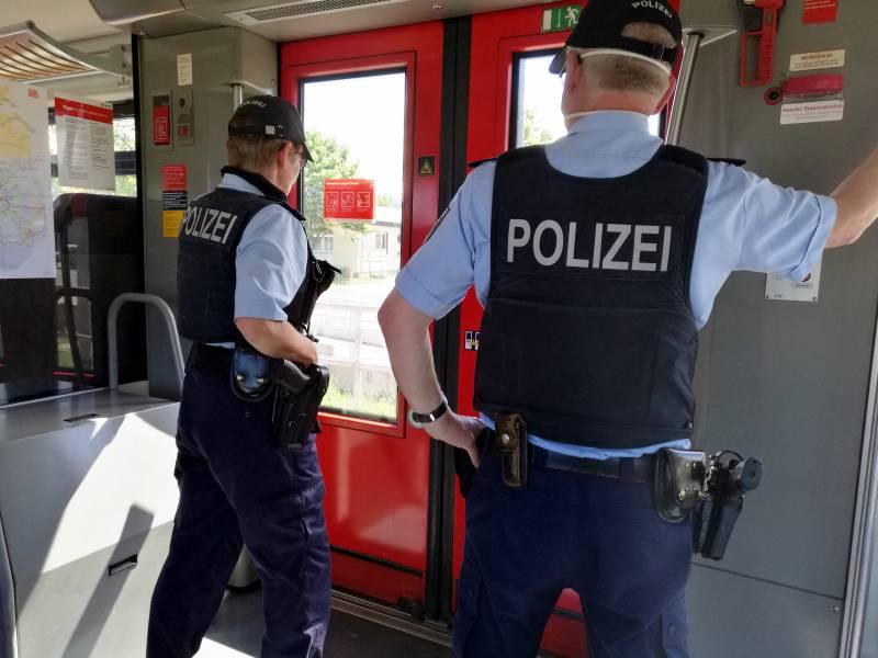 Bundespolizei In Allen Zuegen Gefordert