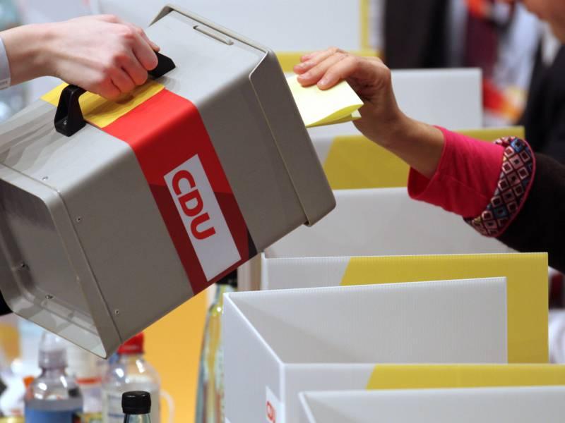 Cdu Landesverbaende Wollen Parteitag Im Januar Erzwingen