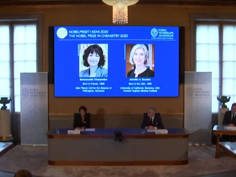 Chemie Nobelpreis Geht An Genschere Entwicklerinnen