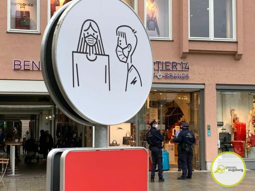 corona-augsburg-maskenpflicht2 Inzidenzwert in Augsburg knackt 200er Marke |Kommt es zum zweiten Lockdown? Augsburg Stadt News Newsletter Region Augsburg Lockdown |Presse Augsburg