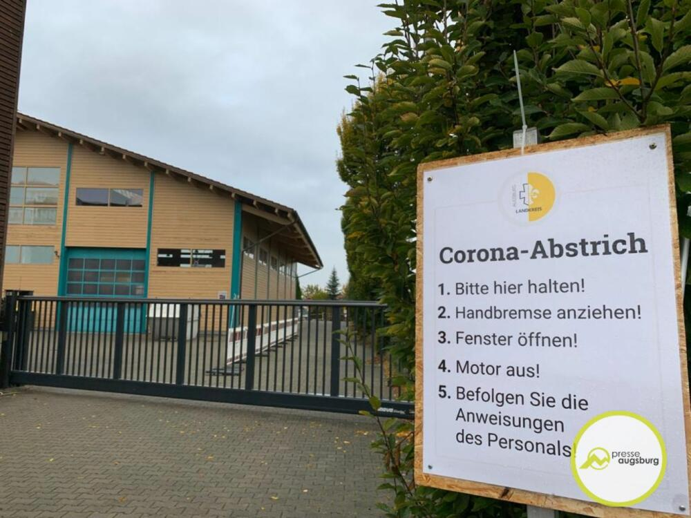 Corona Laandkreisaugsburg Test1