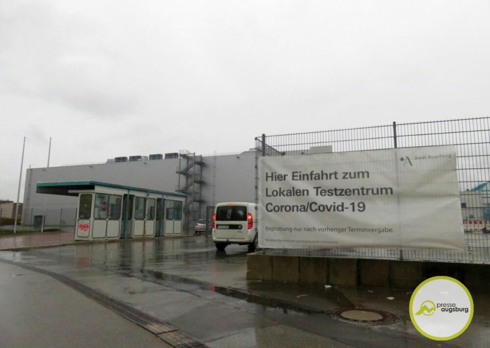 Corona Testzentrum Augsburg