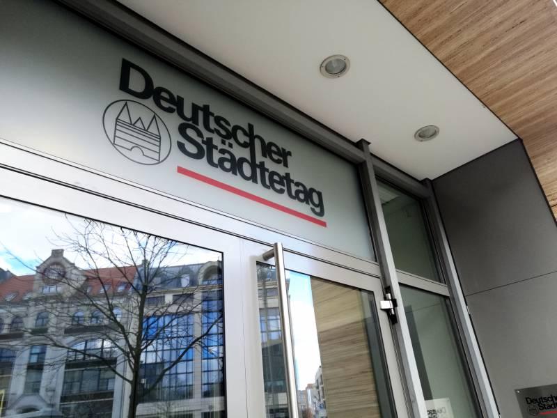 Deutscher Staedtetag Oeffentliche Unternehmen Erhalten Benimmregeln