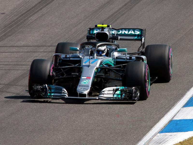 Formel 1 Bottas Holt Pole Auf Dem Nuerburgring
