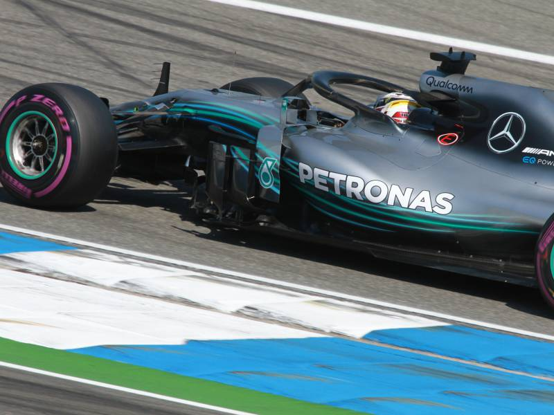 Formel 1 Hamilton Holt Pole In Portimao