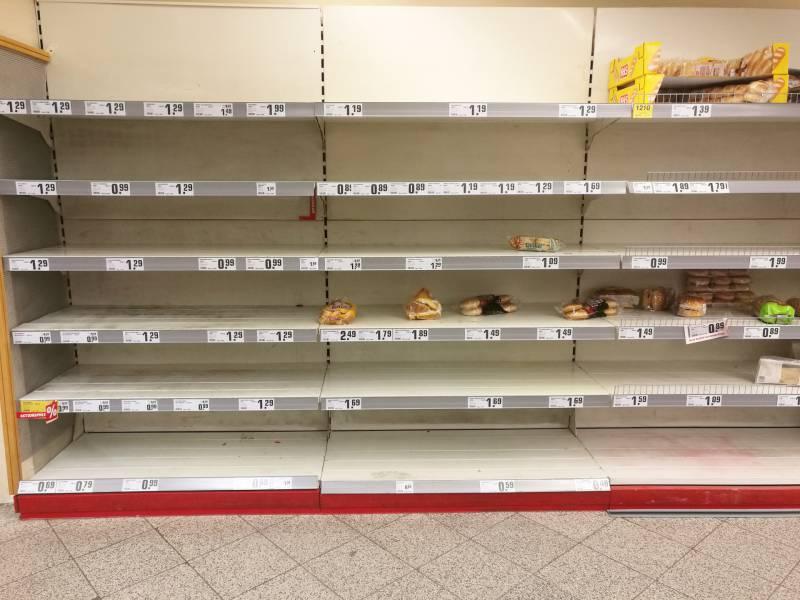 Handelsverband Lebensmittel Sieht Keinen Grund Fuer Hamsterkaeufe