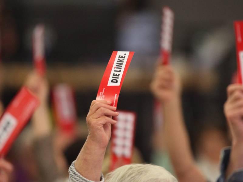 Linke Bundesparteitag Wird Verkuerzt