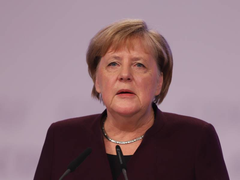 Merkel Draengt Weiter Auf Austrittsabkommen Mit Grossbritannien