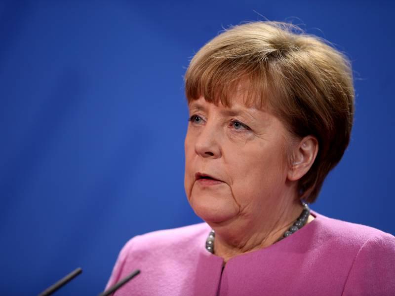 Merkel Verkuendet Eu Sanktionen Gegen Weissrussland