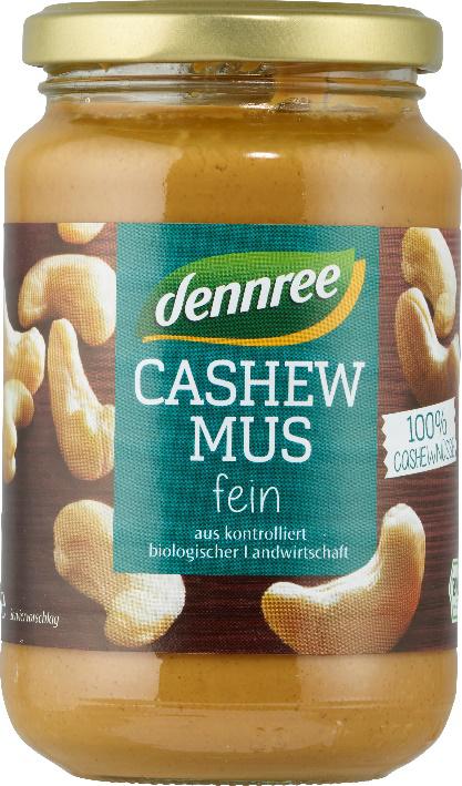 Produktrueckruf Dennree Cashewmus