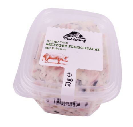 Produktrueckruf Muehlenhof Delikatess Kraeuterfleischsalat