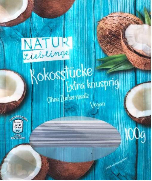 Produktrueckruf Natur Lieblinge Kokosstuecke 100 G