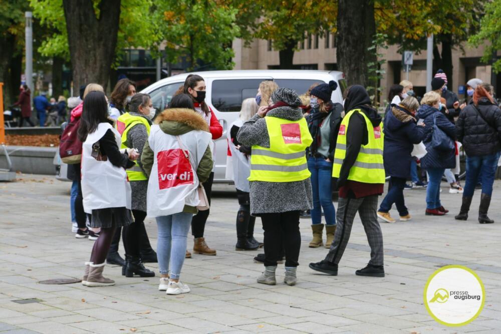 streik-verdi Angebot unzureichend   Verdi lässt morgen auch in Augsburg wieder streiken Augsburg Stadt News Newsletter Wirtschaft Augsburg Müll Stadtwerke Augsburg Streik Verdi  Presse Augsburg