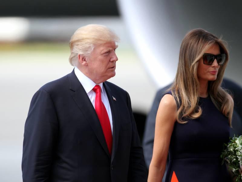 Trump Und Seine Frau Mit Coronavirus Infiziert