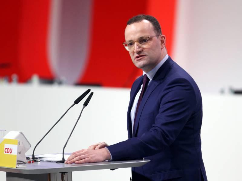 Umfrage Deutsche Wollen Spahn Als Cdu Chef