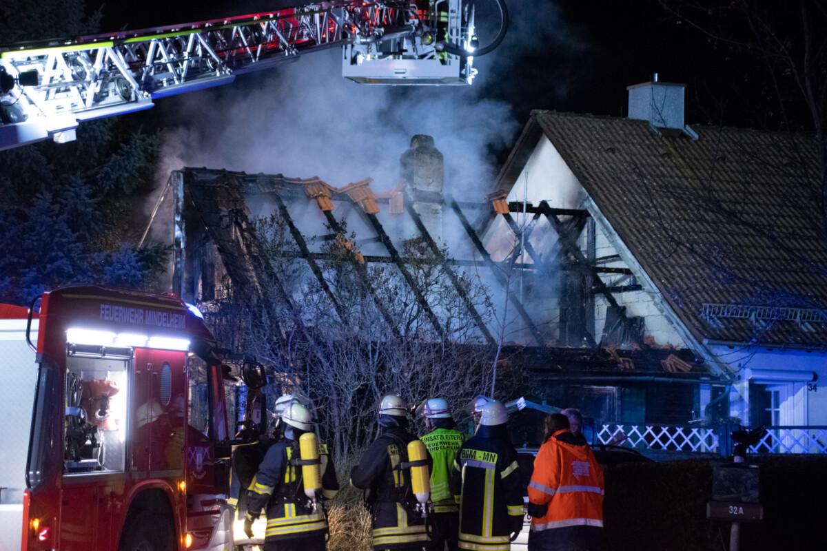 1120-Brand-Mindelheim-9 Wohnhaus in Mindelheim wird Raub der Flammen News Polizei & Co Unterallgäu |Presse Augsburg