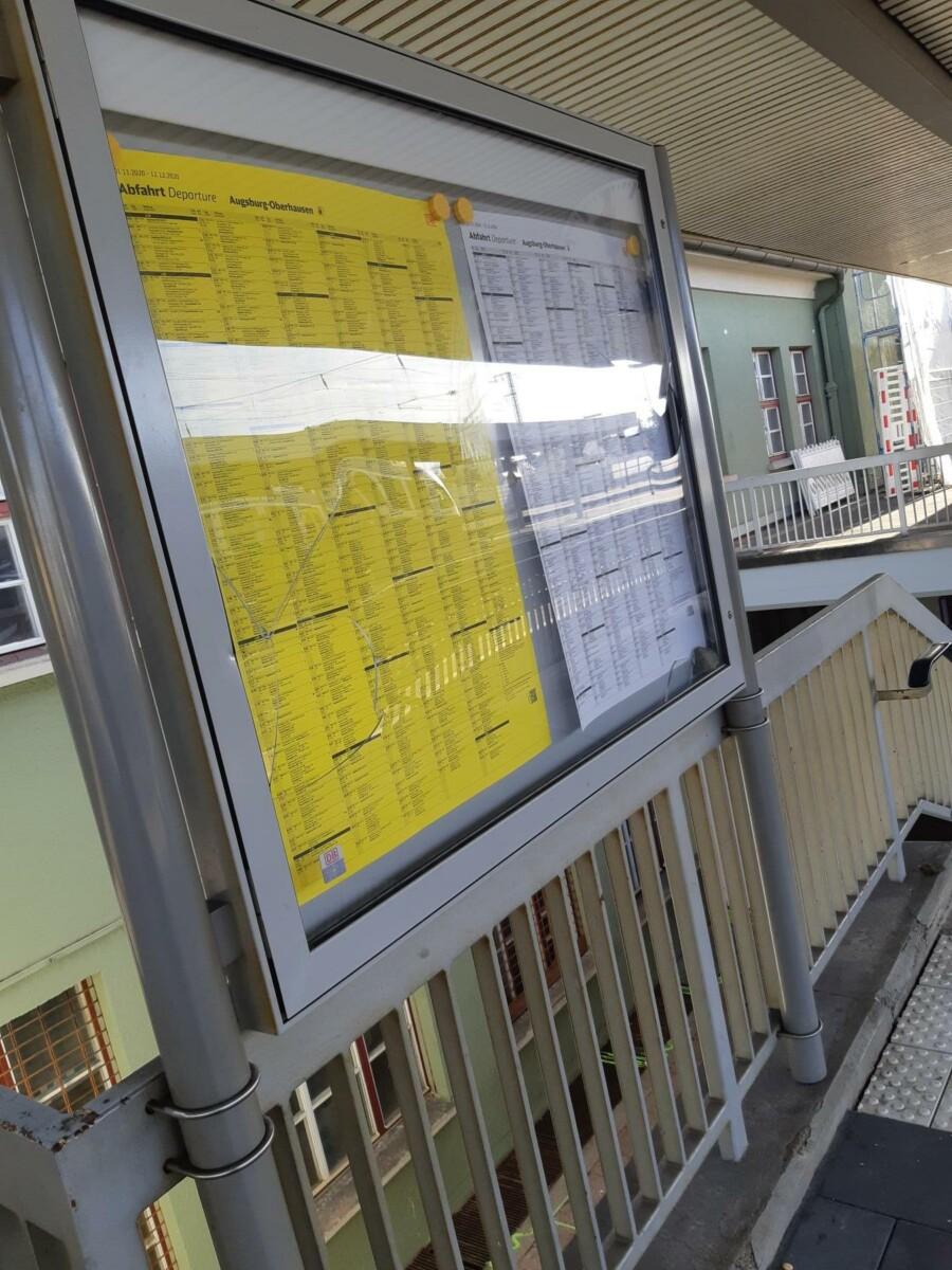 200812D7-955D-4AE1-83C2-D2E51BBF0315 Randalierer richten am Bahnhof Augsburg-Oberhausen großen Schaden an Augsburg Stadt News Polizei & Co |Presse Augsburg