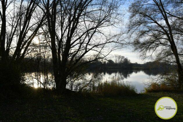 2020 11 22 Der Autobahnsee Im November 11
