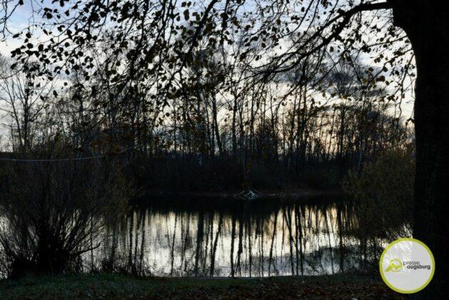 2020 11 22 Der Autobahnsee Im November 4