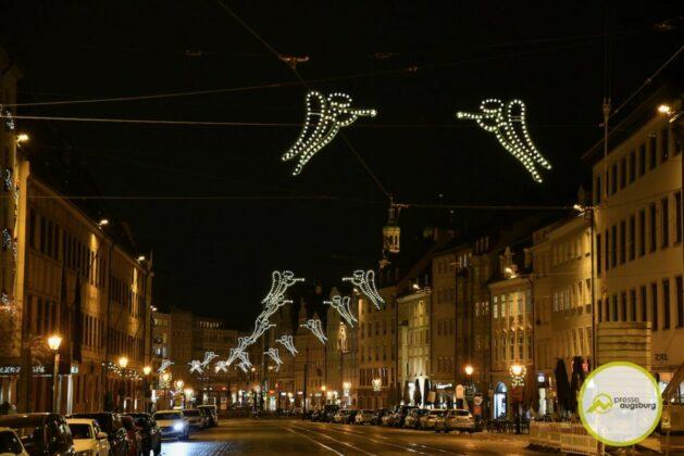 2020 11 29 Advent Beleuchtung Weihnachten Augsburg Cze 10