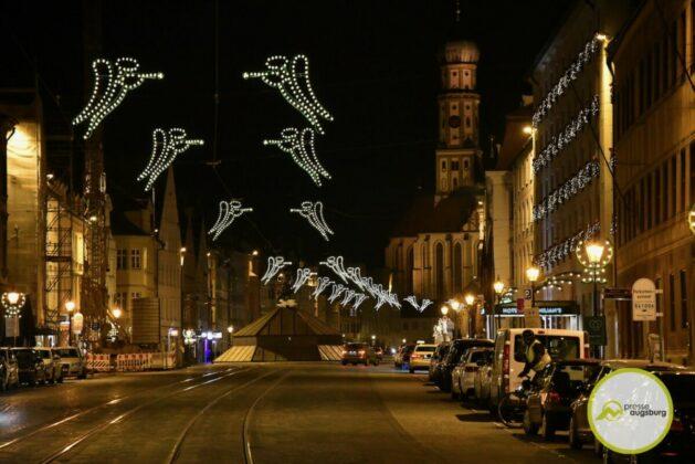 2020 11 29 Advent Beleuchtung Weihnachten Augsburg Cze 12