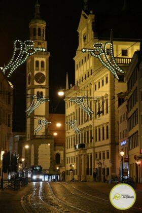 2020 11 29 Advent Beleuchtung Weihnachten Augsburg Cze 13