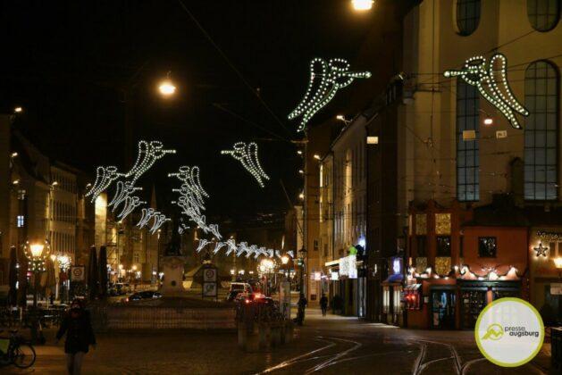 2020 11 29 Advent Beleuchtung Weihnachten Augsburg Cze 14
