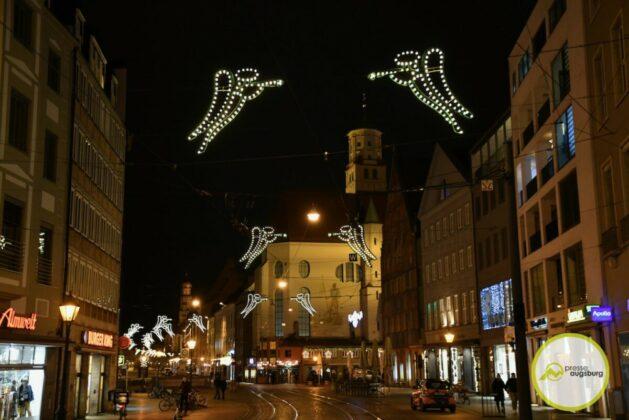 2020 11 29 Advent Beleuchtung Weihnachten Augsburg Cze 15