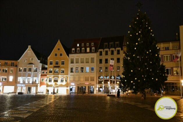 2020 11 29 Advent Beleuchtung Weihnachten Augsburg Cze 17