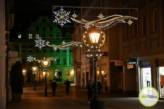 2020 11 29 Advent Beleuchtung Weihnachten Augsburg Cze 20