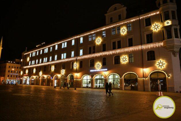 2020 11 29 Advent Beleuchtung Weihnachten Augsburg Cze 21