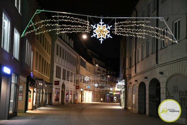 2020 11 29 Advent Beleuchtung Weihnachten Augsburg Cze 22