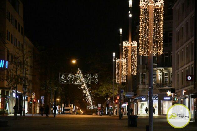 2020 11 29 Advent Beleuchtung Weihnachten Augsburg Cze 3