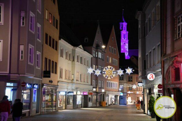 2020 11 29 Advent Beleuchtung Weihnachten Augsburg Cze 4