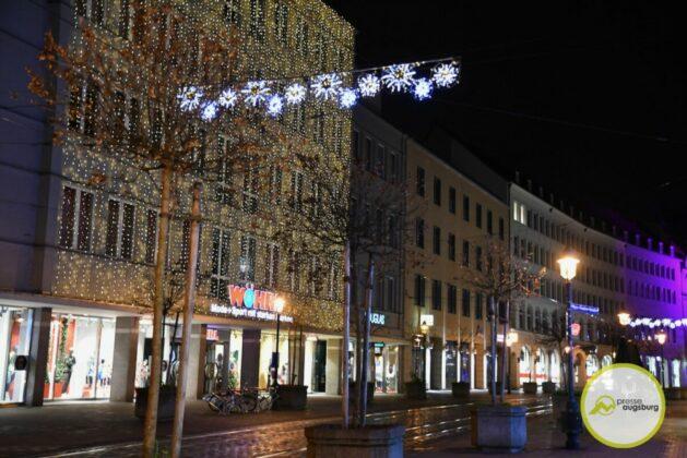 2020 11 29 Advent Beleuchtung Weihnachten Augsburg Cze 5