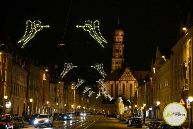 2020 11 29 Advent Beleuchtung Weihnachten Augsburg Cze 9