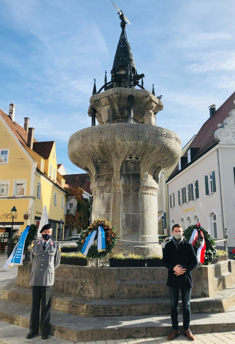 20201115 Volkstrauertag Kriegerbrunnen 2