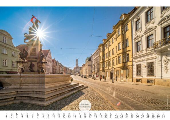Kalender 2021 A3 Augsburg B Pfade11