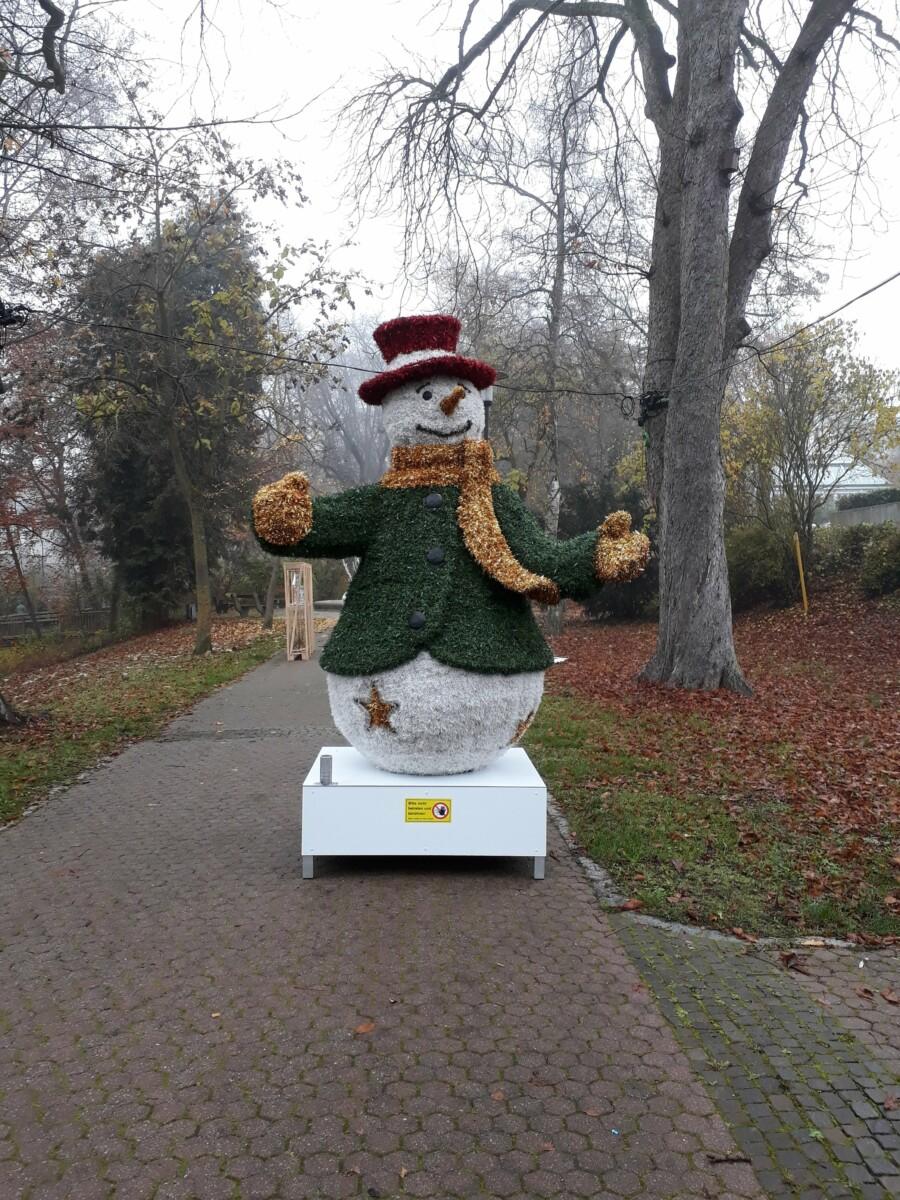Lichtpark Old Shnowman
