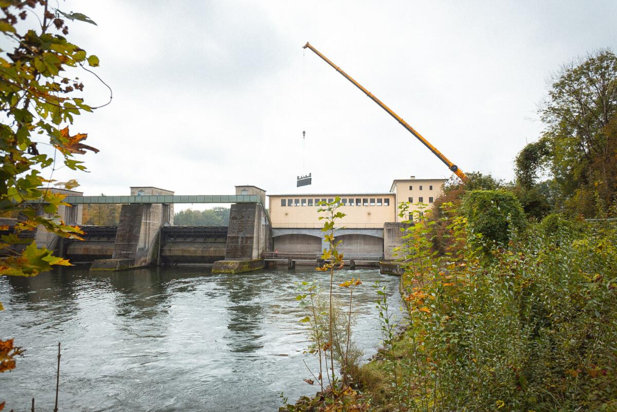 Wasserkraftwerk Ellgau