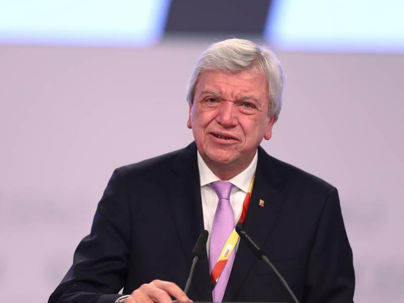 Bouffier Kanzlerkandidatur Relativ Schnell Entscheiden
