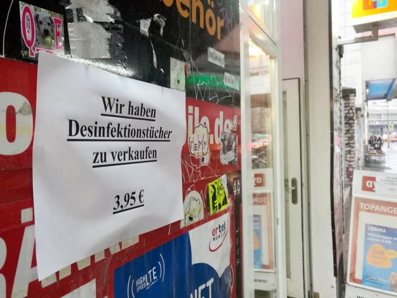 Desinfektionsmittel Produktion In Coronakrise Stark Gestiegen