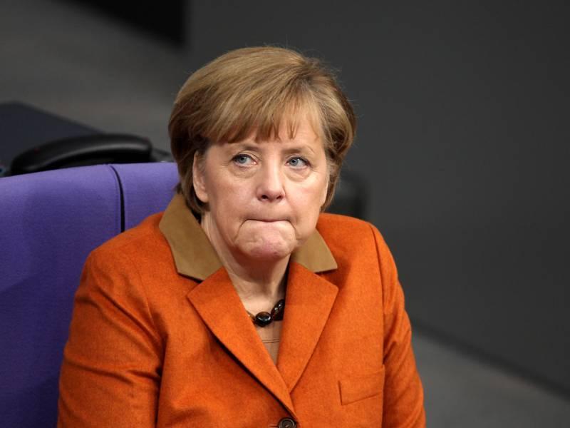 Erhoehte Sicherheitsmassnahmen Bei Merkels Regierungserklaerung