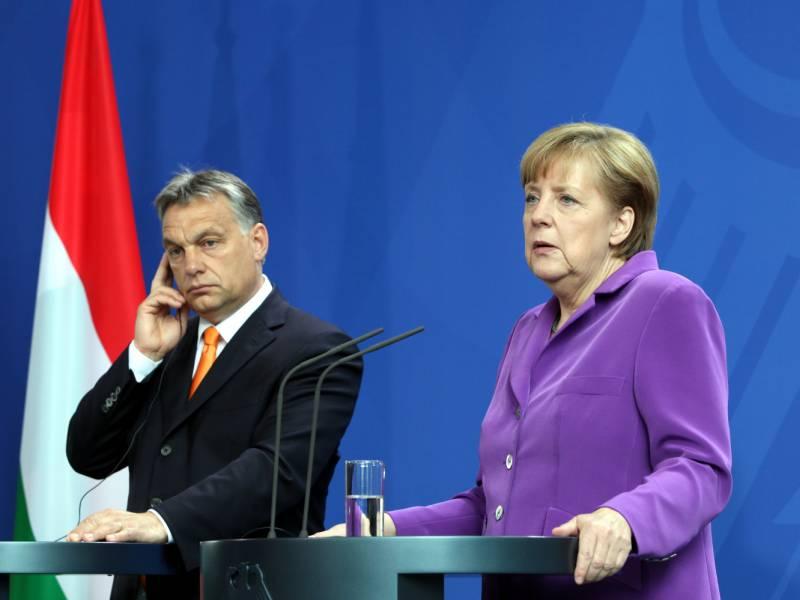 Gruene Wollen Von Merkel Haerte Gegenueber Ungarn Und Polen